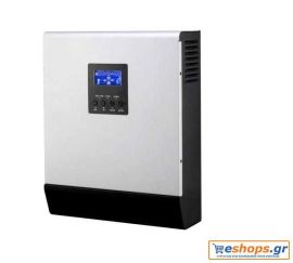 Inverter charger ECO-ICP 3000-24, 3000VA, 50A SOLAR, 30A AC Καθαρού ημιτόνου με ενσωματωμένο φορτιστή μπαταριών