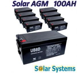Battery AGM 100AH